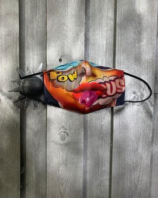 Masque Coloré Sucette
