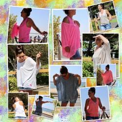 En superpo ou pas on adore ces petits hauts d'été ❤️❤️❤️, on porte en couleurs assorties ou non, c'est comme on veut 😁😁😁… T-shirt oversise 29€, Débardeur étoile poitrine 22€, Débardeur coton 19€…. A vous de choisir ☺️☺️😉😉😎😎 #papilhome #dressingroom #dressingparticulier #lookdujour #todaymood #fringues #addict #modefemme #tendance2021 #tshirtoversize #debardeur #gujanmestras #bassindarcachon