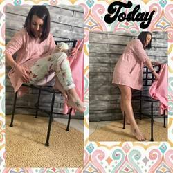 Un peu de couleurs avec cette jolie superposition 💕💕... Blazer 39€, tunique robe 39€, pantalon 45€ 💕💕... #papilhome #lookoftheday #rose #dressing #venteadomicile #siteinternet #www.papilhome.com #gujanmestras #bassinarcachon