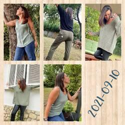 Petite inspiration pour le kaki aujourd'hui 🥰🥰🥰, d'autres couleurs et modèles disponibles sur www.papilhome.com 🤩🤩🤩 #papilhome #dressingroom #dressingparticulier #boutiquenomade #siteinternet #lookoftheday #couleurkaki #tendance2021 #mood #vetementfemme #addict #goodvibes #gujanmestras #bassindarcachon