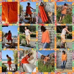 Aujourd'hui orange et c'est tout!!!! A vous de faire votre choix 🧡🧡🧡…. Moi perso, j'aime tout 🤩🤩🤩🤩… Retrouvez tous les articles sur www.papilhome.com #papilhome #dressingroom #siteinternet #tendancemode #vetementfemme #fringuesaddict #look2021 #onadore❤️ #gujanmestras #bassindarcachon