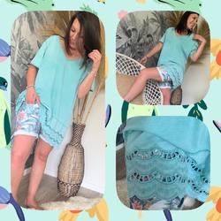 Bon c'est quand l'été ???? Il fait qu'on sorte toutes nos petites tenues légères qu'on adore!!!! Short 39€, Tunique coton 25€ ( couleurs et tailles disponibles sur le site )... #papilhome #siteinternet #www.papilhome.com #dressingroom #newco #mode #vêtements #onadore #chacunesonlook  #gujanmestras #bassinarcachon