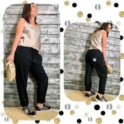 Look du jour!!!! Mouahhhhh j'adore 😍... Caraco 20€, jogg 40€, sneakers 49€ et sac 19€.... #papilhome #lifestyle #lookoftheday #coollook #tendancemode #fringuesaddict #siteinternet #www.papilhome.com #gujanmestras #bassinarcachon