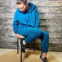 Home life today 😊😊😊... cooooolllllll, férié, pluie ☔️... ensemble jogg pour rester tendance et recevoir les amis 😁😁, modèles et couleurs disponibles sur votre site préféré www.papilhome.com... #papilhome #dressingroom #lookoftheday #tendance #mood #jogg #jeudidelascension #jourférié  #gujanmestras #bassinarcachon